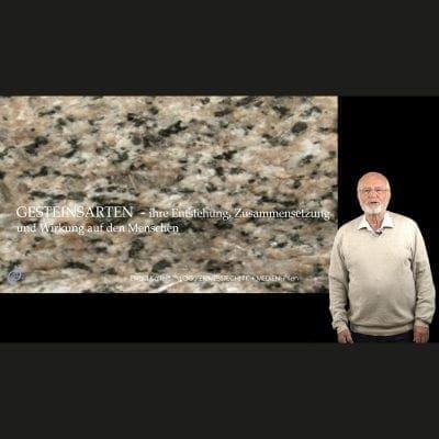 Vortrag Gesteinsarten und ihre Wirkung auf Menschen